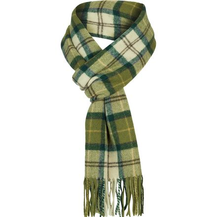 Barbour Tartan Lambswool Scarf - Men's