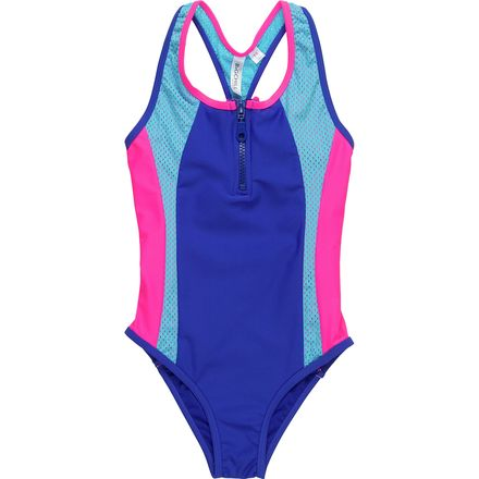 Big Chill Zipper One Piece - Girls'