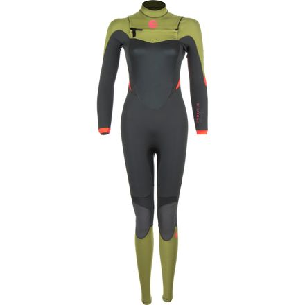 Billabong 4/3 Salty Dayz EZ Chest-Zip Full Wetsuit - Women's