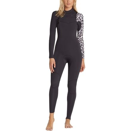Billabong 3/2 Furnace Carbon Comp Chest-Zip Full Wetsuit - Women's