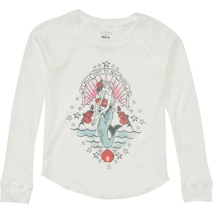 Billabong Out To Sea Long-Sleeve Top - Girls'