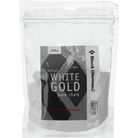 Black Diamond Uncut White Gold Pure Chalk