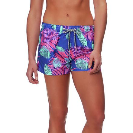 Boardies Tropicano Blue Boardshort - Women's