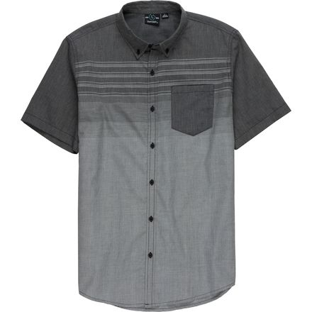 Burnside Short-Sleeve Textured Shirt - Men's