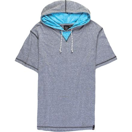 Burnside Trainer Short Sleeve Pullover Hoodie - Men's