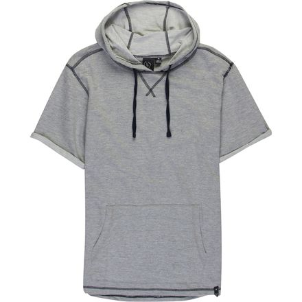 Burnside Jim French Terry Short Sleeve Hoodie - Men's