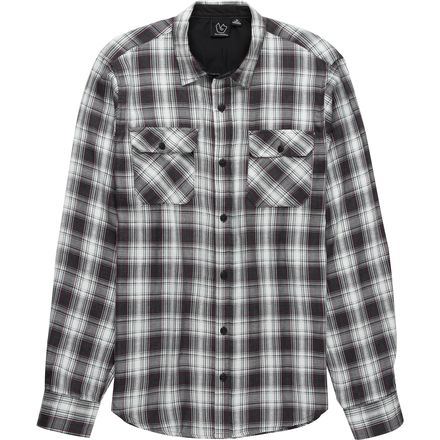 Burnside Hickory Plaid Woven Long-Sleeve Shirt - Men's