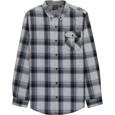 Burnside Long-Sleeve Plaid Woven Shirt - Men's