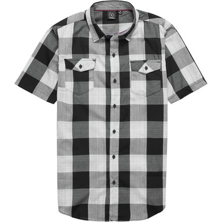 Burnside Checkmate Button-Down Shirt - Men's