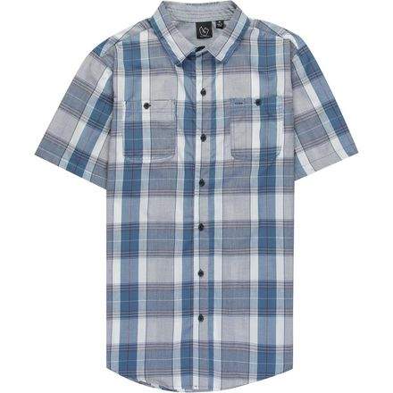 Burnside Austin Short-Sleeve Button-Down Shirt - Men's