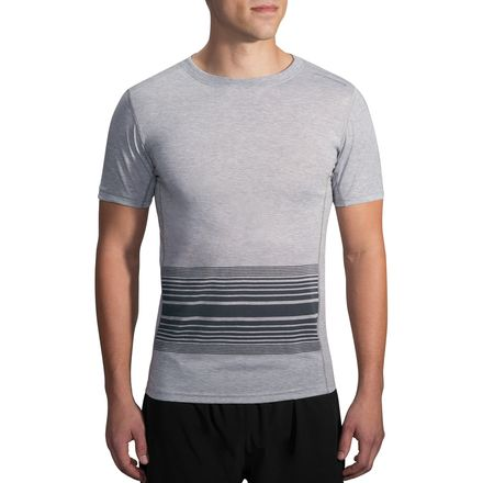 Brooks Distance Performance Short-Sleeve Shirt - Men's
