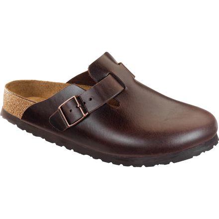 birkenstock boston soft footbed amalfi leather clog men 39 s. Black Bedroom Furniture Sets. Home Design Ideas