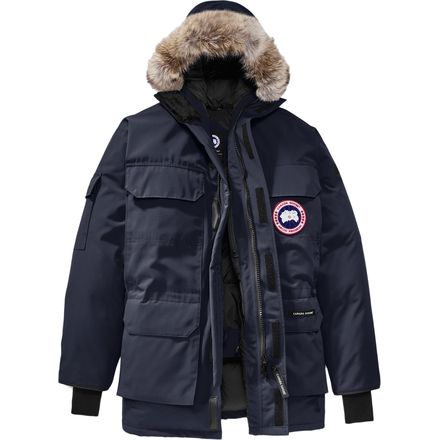 canada goose expedition parka fill weight