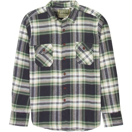 Counter Intelligence Flannel Plaid Shirt - Men's