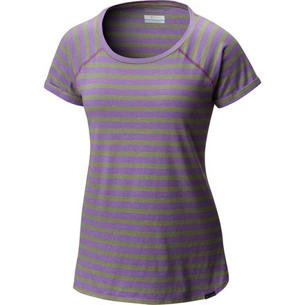 Columbia Trail Shaker Stripe Short-Sleeve Shirt - Women's