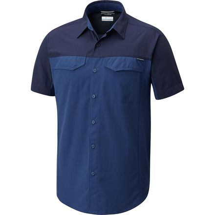 Columbia Silver Ridge Blocked Short Sleeve Shirt - Men's