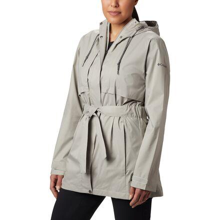 29e4c4b2405e6 Columbia Womens Pardon My Trench Rain Jacket Plus Size ✓ Labzada T ...