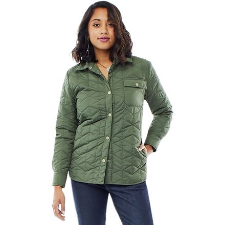 Carve Designs Evans Quilted Shacket - Women's