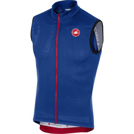 Castelli Entrata 3 Sleeveless Full-Zip Jersey - Men's