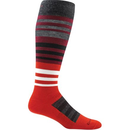 Darn Tough Hojo Over-The-Calf Ultra-Light Ski Sock - Men's