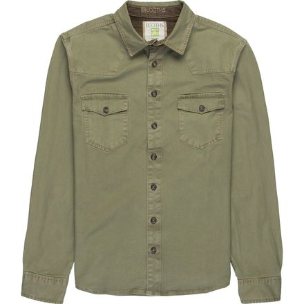 Ecoths Brock Button-Up Overshirt - Men's
