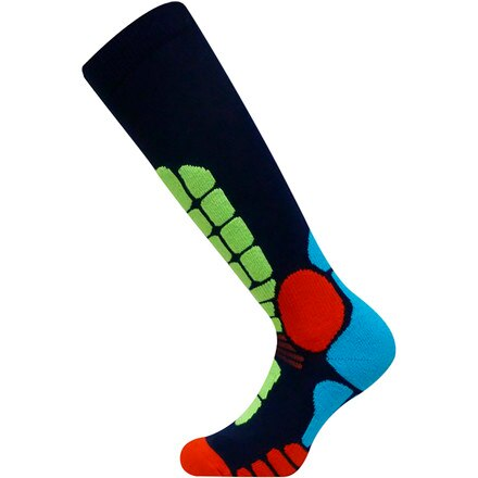 EURO Socks Digits Silver Ski Sock