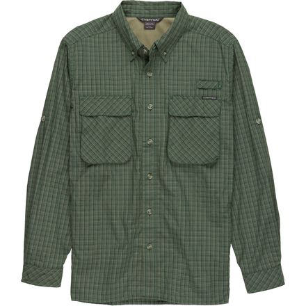 ExOfficio Air Strip Macro Plaid Shirt - Long-Sleeve - Men's