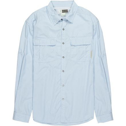 ExOfficio BugsAway Halo Stripe Long-Sleeve Shirt - Men's