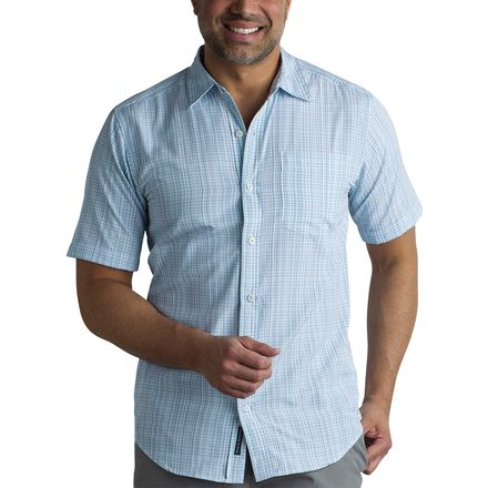 ExOfficio Salida Ombre Plaid Short-Sleeve Shirt - Men's