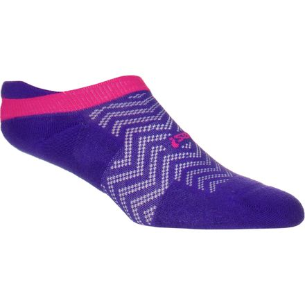 Feetures! High Performance Light Cushion No Show Tab Sock - Women's