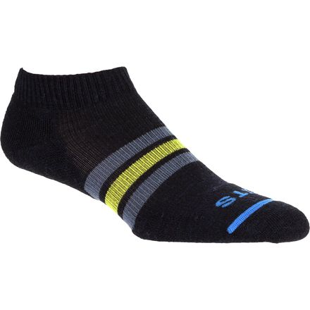 FITS Light Runner Low Striped Socks - Women's