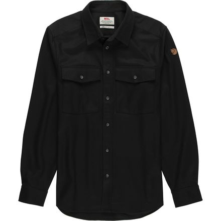 Fjallraven Ovik Re-Wool Long-Sleeve Shirt - Men's