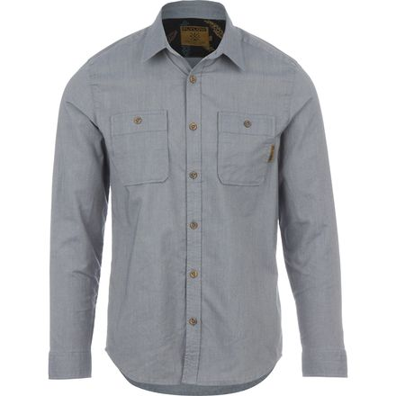 FlyLow Gear Royal Chambray Shirt - Men's