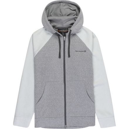 Free Country Lightweight Fleece Hoodie - Men's