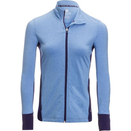 Free Country B Bold Two Tone Full-Zip Top  - Women's