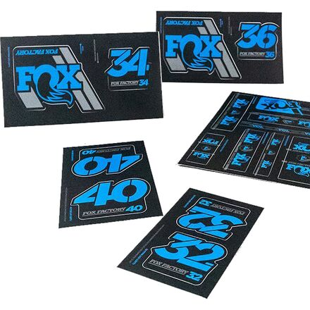 Fox Heritage Decal Kit for Forks and Shocks White Fit Almost Every FOX Model