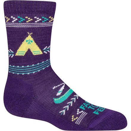 Farm To Feet Camp Crew Sock - Kids'