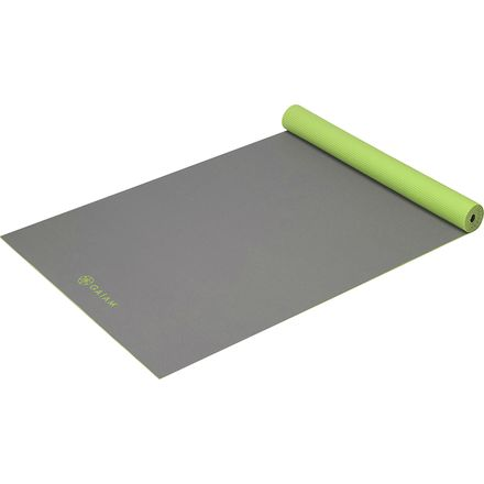 Gaiam 3mm Solid Two-Sided Yoga Mat