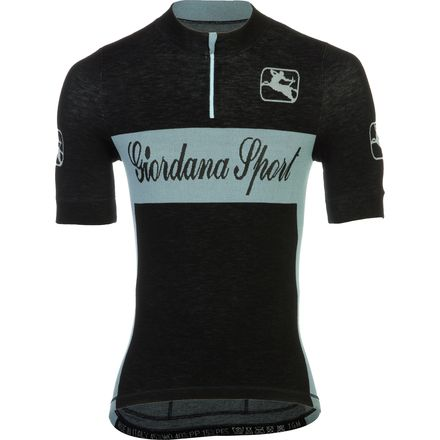 Giordana Sport Knited WOOL Jersey - Short-Sleeve - Men's