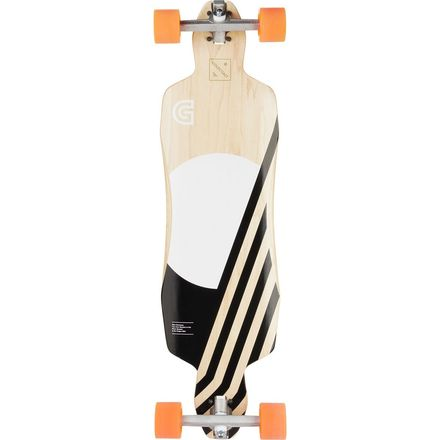 Gold Coast Pluton Drop Through Complete Longboard