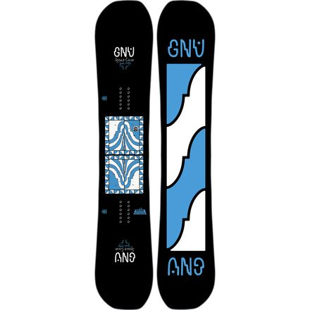 Gnu Forest Bailey Space Case Snowboard - Men's