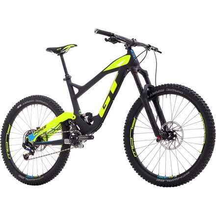 GT Force Carbon Pro Complete Mountain Bike - 2017