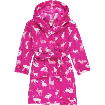 Hatley Fuzzy Fleece Robe - Girls'