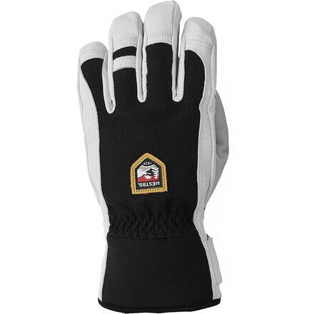 Black 2020 Gants Protection HESTRA Army Leather Patrol Gants