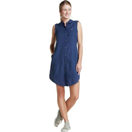Toad&Co Indigo Ridge Sleeveless Dress - Women's