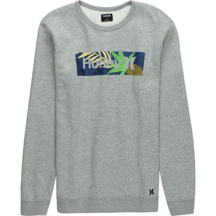 Hurley Surf Check Paradise Crew Sweatshirt - Men's