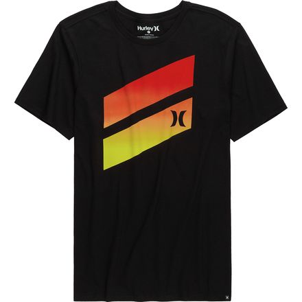Hurley Premium Icon Slash Gradient T-Shirt - Men's