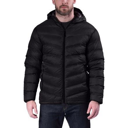 Hawke and Co.  Chevron Jacket with Hood - Men's