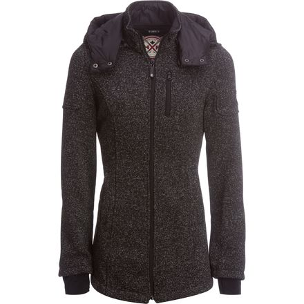 HFX Water Repellent Bonded Fleece Sweater Jacket - Women's