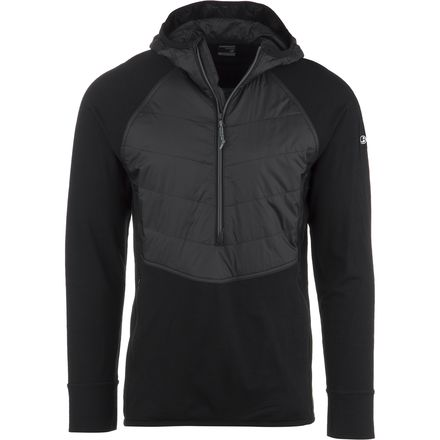 Icebreaker Ellipse 1/2-Zip Hooded Insulated Jacket - Men's